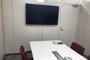 ~管理本部に神棚を設置いたしました~ 応接会議室にモニターも設置いたしました。