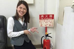 行田営業所の消火器の交換完了