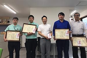 令和元年度永年勤続賞が授与されました。