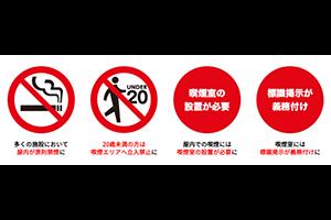 改正健康増進法『受動喫煙防止』がはじまりました。